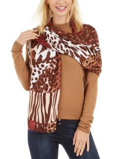 INC International Concepts Inc Mixed-Animal-Print Pashmina, Created for Macy's