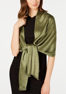 INC International Concepts Inc Mixed Metallic Super-Soft Wrap, Created for Macy's