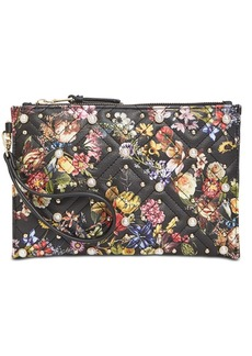 INC International Concepts I.n.c. Molyy Quilted Floral Wristlet Clutch, Created for Macy's
