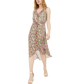 INC International Concepts Inc Mosaic Floral Chiffon Dress, Created for Macy's