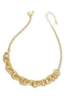 INC International Concepts Inc Multi-Ring Statement Necklace, Created for Macy's