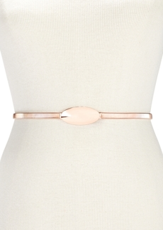 INC International Concepts I.n.c. Oval Chain Stretch Belt, Created for Macy's