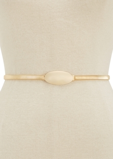 INC International Concepts Inc Oval Chain Stretch Belt, Created for Macy's