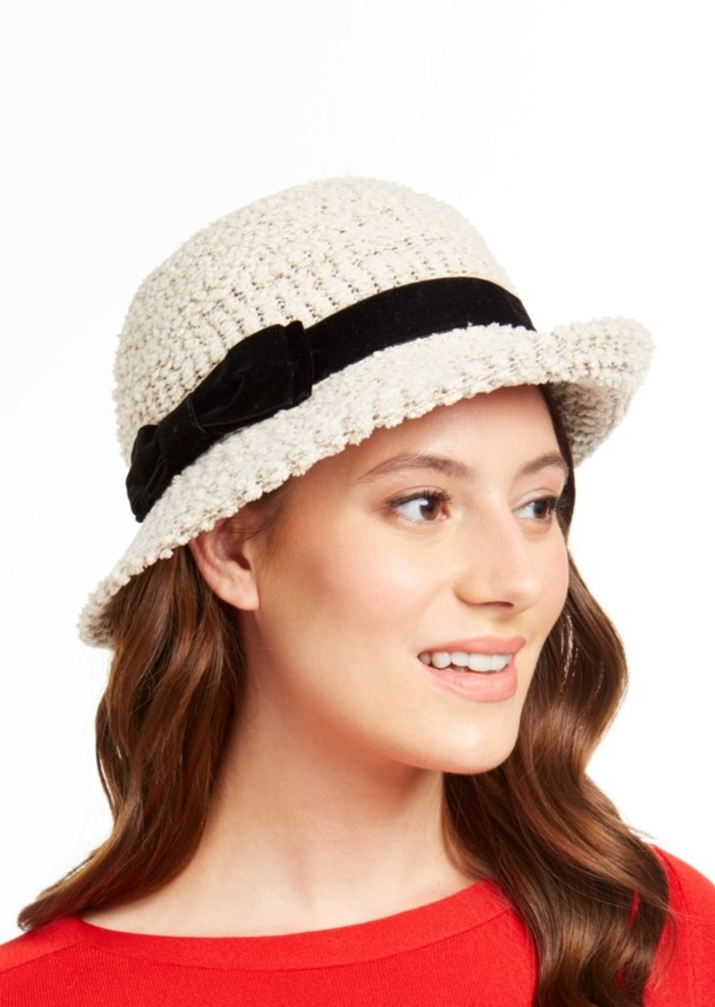 INC International Concepts Inc Packable Bow Cloche, Created for Macy's