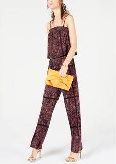 INC International Concepts Inc Paisley Printed Jumpsuit, Created for Macy's