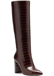 INC International Concepts Inc Paiton Block-Heel Boots, Created for Macy's Women's Shoes