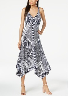 INC International Concepts I.n.c. Patchwork-Print Dress, Created for Macy's