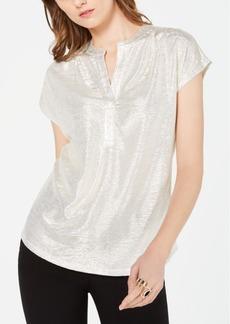 INC International Concepts Inc Pebble-Shine Top, Created for Macy's