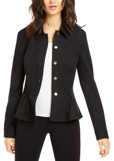 INC International Concepts I.n.c. Petite Peplum Jacket, Created for Macy's