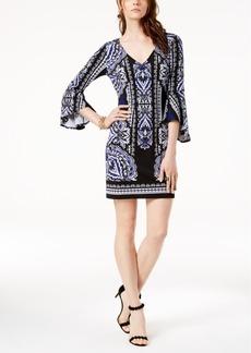 I.n.c. Petite Bell-Sleeve Dress, Created for Macy's