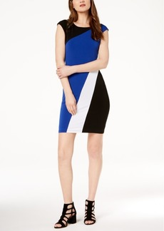 INC International Concepts I.n.c. Petite Colorblocked Sheath Dress, Created for Macy's