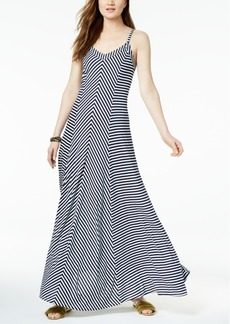 INC International Concepts I.n.c. Petite Embellished Striped Maxi Dress, Created for Macy's