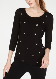 INC International Concepts I.n.c. Embellished Top, Created for Macy's