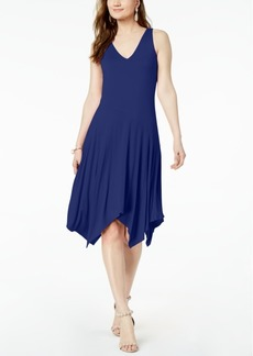INC International Concepts I.n.c. Petite Handkerchief-Hem Dress, Created for Macy's