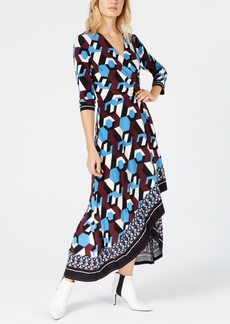 INC International Concepts I.n.c. Asymmetrical-Hem Wrap Dress, Created for Macy's