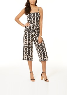 INC International Concepts Inc Smocked Bodice Jumpsuit, Created for Macy's