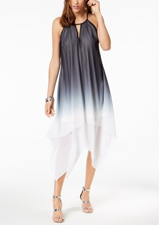 INC International Concepts I.n.c. Petite Ombre Halter Keyhole Dress, Created for Macy's