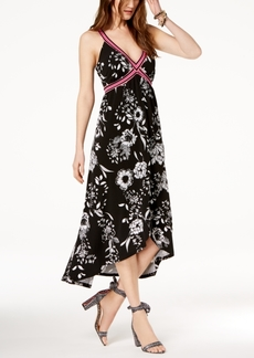 INC International Concepts I.n.c. Petite Printed Faux-Wrap Maxi Dress, Created for Macy's