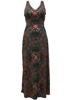 INC International Concepts Inc Scarf-Print Maxi Dress, Created for Macy's