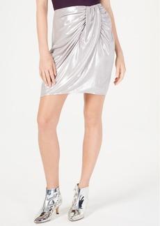 INC International Concepts I.n.c. Petite Satin Sarong Skirt, Created for Macy's