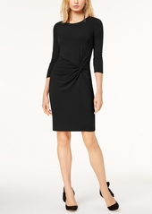 INC International Concepts I.n.c. Petite Twist-Front Dress, Created for Macy's