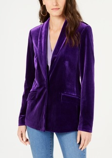 INC International Concepts I.n.c. Petite Velvet Blazer, Created for Macy's