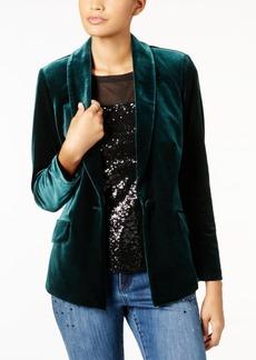 INC International Concepts I.n.c. Petite Velvet Blazer, Created for Macy's