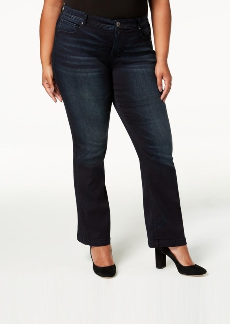 2ac8b7b5687 SALE! INC International Concepts I.n.c. Plus Size Bootcut Jeans ...