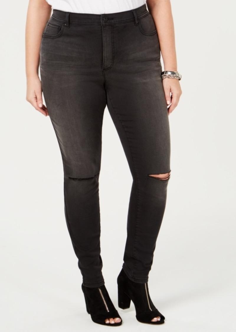 eec4e7ed062b INC International Concepts I.n.c. Plus Size Distressed Skinny Jeans ...