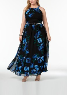 INC International Concepts I.n.c. Plus Size Halter A-Line Maxi Dress, Created for Macy's
