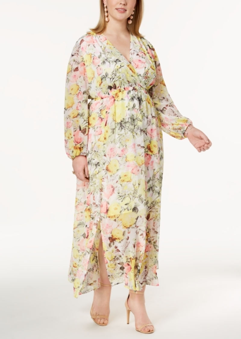 INC International Concepts I.n.c. Plus Size Printed Maxi Dress ...