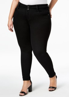 INC International Concepts I.n.c. Plus Size Three-Button Skinny Jeans, Created for Macy's