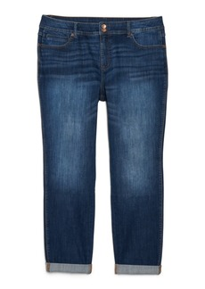 INC International Concepts Inc Plus Size Tummy Control Zenith Boyfriend Jeans, Created for Macy's