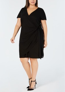 INC International Concepts I.n.c. Plus Size Wrap Dress, Created for Macy's