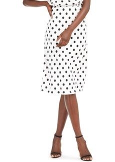 INC International Concepts Inc Polka-Dot Midi Skirt, Created for Macy's