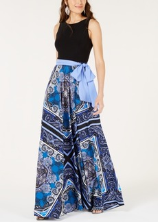 INC International Concepts I.n.c. Petite Scarf-Print Maxi Dress, Created for Macy's