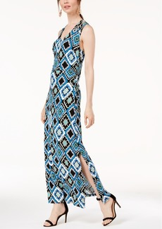 INC International Concepts I.n.c. Printed Crisscross Maxi Dress, Created for Macy's