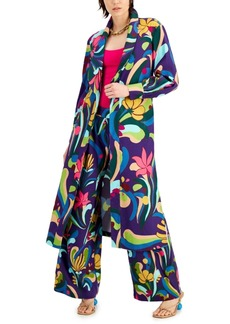 INC International Concepts Inc Printed Duster Jacket, Created for Macy's