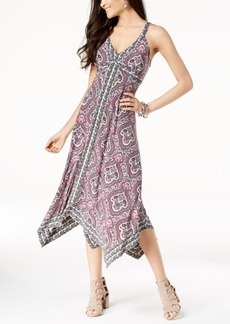 INC International Concepts I.n.c. Petite Handkerchief-Hem Midi Dress, Created for Macy's