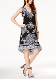 INC International Concepts I.n.c. Printed High-Low Dress, Created for Macy's