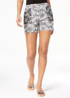 INC International Concepts I.n.c. Printed Jacquard Shorts, Created for Macy's
