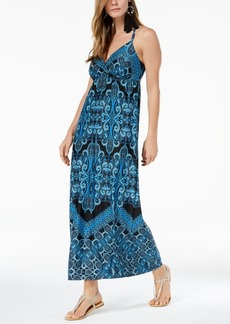 INC International Concepts I.n.c. Printed O-Ring Maxi Dress, Created for Macy's