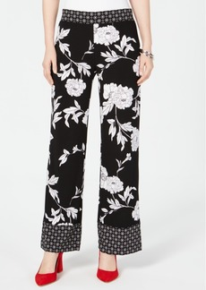 INC International Concepts I.n.c. Printed Pull-On Pants, Created for Macy's