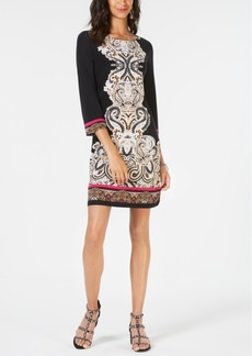INC International Concepts I.n.c. Printed Sheath Dress, Created for Macy's