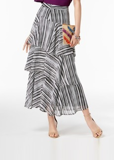 INC International Concepts I.n.c. Printed Tiered Skirt, Created for Macy's