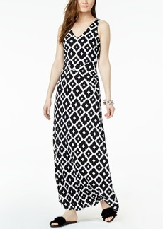INC International Concepts I.n.c. Printed V-Back Maxi Dress, Created for Macy's