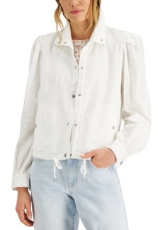 INC International Concepts Inc Puff-Sleeve Jacket, Created for Macy's