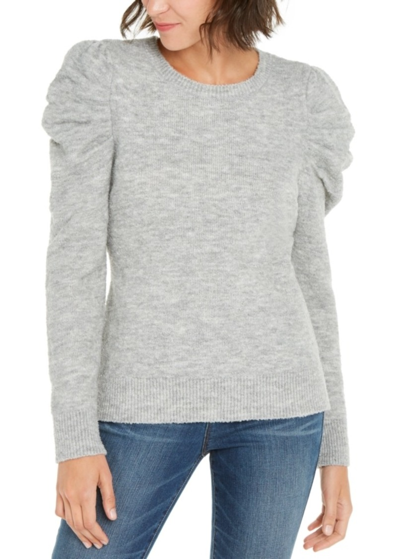 INC International Concepts Inc Puff-Sleeve Sweater, Created For Macy's