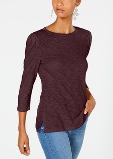 INC International Concepts Inc Puff-Sleeve Top, Created for Macy's