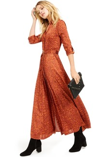 INC International Concepts I.n.c. Python-Print Maxi Shirtdress, Created for Macy's